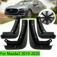 Mudguards Mud Flaps Front Rear Splash Guards For Mazda 3 Sedan 2019-2020