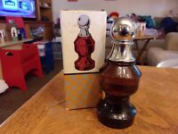 AVON CHESS PIECE THE PAWN full of OLAND after shave.