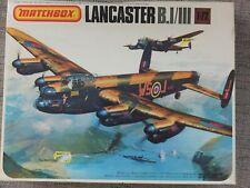 MATCHBOX PK-602  LANCASTER BOMBER B.I/III  VERY RARE 1/72 MODEL KIT