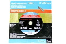 Novapro ⌀ 230 MM Diamonds Saw Cutting Disc 230 X 22,23 MM