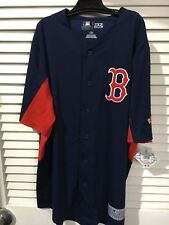 MLB Baseball Tx3 Cool Adult Men's S Small Boston Red Sox Jersey With Tags 258