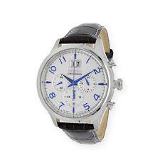 Seiko Reloj Cronógrafo para Hombre de Cuarzo con Correa en Cuero SPC155P1