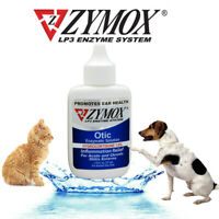 Zymox Otic Pet Dog & Cat Ear Treatment with 1% Hydrocortisone , 1.25-oz bottle