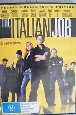 DVD Region 4 The Italian Job Mark Wahlberg