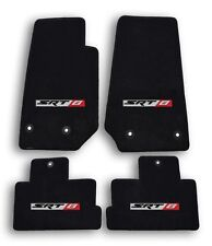 2014-2015 Jeep Cherokee SRT 8 Black Ultimat Carpet - 4pc Mat Set with SRT 8 Logo