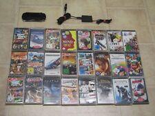 Sony PSP Schwarz mit 3 Spiele + Zubehörpaket (2004)