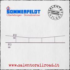 SOMMERFELDT 184 catenaria in acciaio ramato 0,4/0,5 mm - lunghezza 500 mm - 5 pz