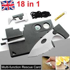 Multi-functional Swisscard Credit Card survival combination tool card UK SELLER