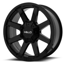 17 Inch Black Rims Wheels NEW Chevy Silverado 1500 Truck Tahoe HELO HE909 Set 4