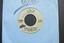 """7"""" Sly & The Family Stone - Dance To The Music/ Life - US Epic"""