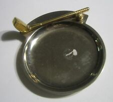 Golf Tray Brass And Stainless Steel Golf Club And Golf Ball Dish Catch-All Plate