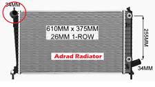 Radiator SAAB 95 9-5 2L B205E 2.3l B235L 4Cyl Turbo 2001-2010 Auto Man New Adrad