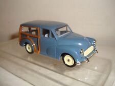 Corgi 1:43 scale - Morris Minor Traveller(first promo Vanguards model) mint/boxd