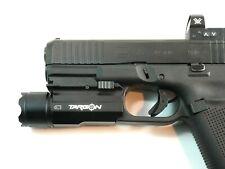 Targon Tactical Led Flashlight 300 Lumens For Pistol Quick Release Glock