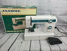 Janome Model 108 Limited Edition Sewing Machine in Original Box