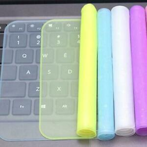 Keyboard Protector Cover Universal Laptop Silicone n Dust-proof & C3Z8