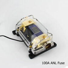 Digital ANL Fuse Holder 100A Amp Car Amplifier Audio Stereo 0 Gauge in 4 AWG Out