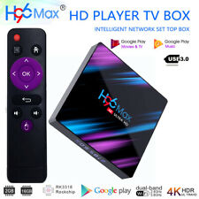 H96 Max RK3318 4K Smart TV Box 2+16GB Android 9.0 Quad Core WIFI Media Player EU