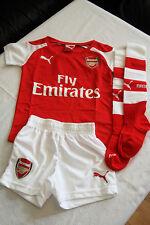 Arsenal FC London England Mini-Kit Baby Set Trikot rot weiß Puma Gr. 92 neu