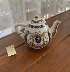 The Miniature Teapot Collection Teapot Porcelian Art