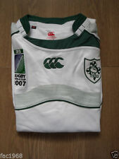Maillots de rugby blancs Canterbury