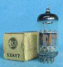 1-RCA 12AY7 Vacuum Tube NOS/NIB Amplitrex Tested Balanced Low Noise