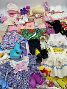 Huge LOT Of Doll Clothes For Wellie Wishers American Girl  Shoes Accessories