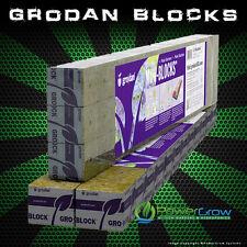 "GRODAN Mini Blocks 45 Pack 1.5""x1.5"" Rockwool Stonewool Cubes FREE SHIPPING"