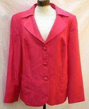 Leuchtend pink Blazer Gr.48 HABELLA wie Rohseide rot festlich EDEL Mona NP149€