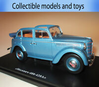 Moskvich 400-420 A model scale 1: 24 Hachette die-cast car model of the USSR