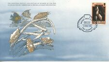 COLLECTION TIMBRES DE LA MER FONDATION COUSTEAU / FAUNE / ¨POISSON 1980