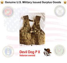 Flc Tactical Vest Usmc Coyote Molle Ii (Excellent Condition)