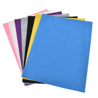 A4 Sheet Self Adhesive Felt Fabric DIY Materials Sewing Accessories Craft 1mm