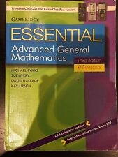 Essential Advanced General Mathematics Third Edition Enhanced TIM/CP Version...