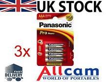 Panasonic Pro Power Gold Lr03 Alcalina AAA Batteria (3 CONFEZIONI DI 4 BATTERIE)