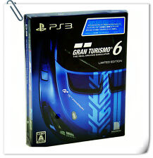 PS3 Gran Turismo 6 GT6 Limited Edition 中英文版 SONY PlayStation Racing Games SCE