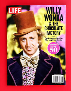 NEW LIFE Magazine 2021 Willy Wonka  & The Chocolate Factory Special 50 Magic Yrs