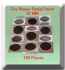 100 Pieces TP-052 Round Radial Repair Tire Patch Medium Size 52 MM High Qualit