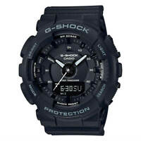 Casio Women's Watch G-Shock S-Series Black Dial Step Tracker Strap GMAS130-1A