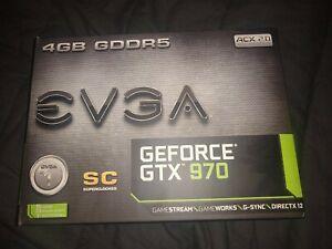 EVGA GeForce GTX 970 4GB GDDR5 Graphics Card (04GP42974KR)