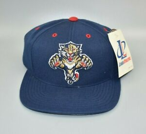 Florida Panthers Logo Athletic Vintage 90's NHL Snapback Cap Hat - NWT