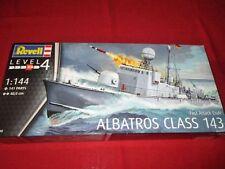 REVELL® 05148 1:144 Fast Attack Craft ALBATROS CLASS 143 NEU OVP