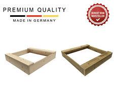 Sandkasten Mini Sandkiste Sandbox aus Massivholz Breiten 80, 100, 120 cm Clamaro