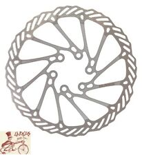 CLARKS CL 160mm 6-BOLT SILVER BICYCLE DISC ROTOR