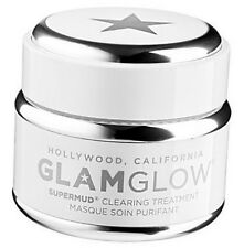 GLAMGLOW Supermud Clearing Treatment Face Mask 34g Skin Blemishes Pores Spots