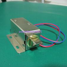 DC12V File Display Cabinet Drawer Latch Assembly Solenoid Electric Deadbolt Lock