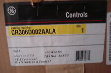 NEW GENERAL ELECTRIC GE CR306D002AALA CONTACTOR