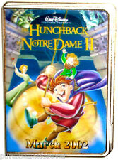 Disney Pin: DS 12 Months of Magic 2002 DVD Cases - Hunchback Of Notre Dame II