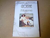 MASSIME - Ghoethe -   Libro
