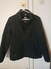 SNOZU The Platinum Collection Womens Black Softshell Jacket EUC Sz Large